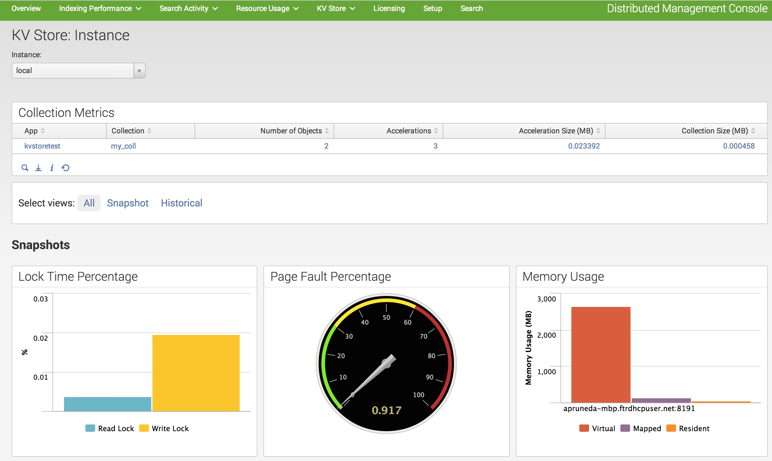 Debug slow operations and monitor kv store activity splunk for Monitoring consul