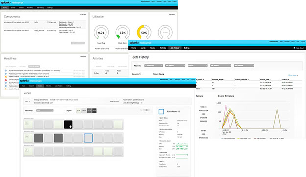 Splunk App for HadoopOps Screenshot